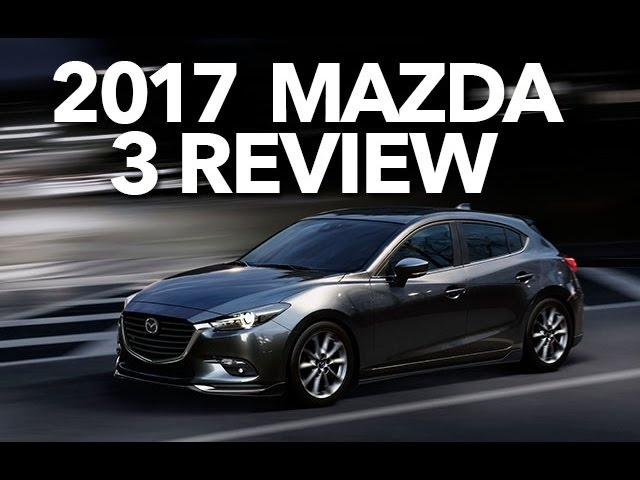 2017 <em>Mazda</em> 3, Full Review, Crazy Headlights and Road Test