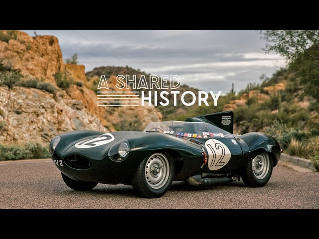 This 1954 <em>Jaguar</em> D-Type Represents A Shared History
