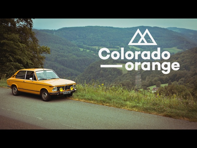 The Colorado Orange 1972 <em>BMW</em> 2002 Touring Is Perfect For The French Countryside