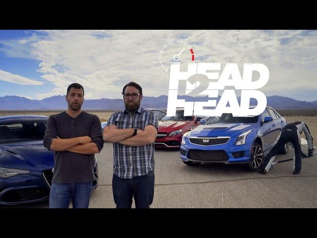 2017 Alfa Romeo Giulia Quadrifoglio vs. Everything! -Head 2 Head Ep. 85