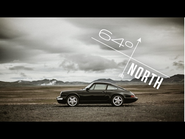 This <em>Porsche</em> 964 Is Piloted In Iceland At 64 Degrees North