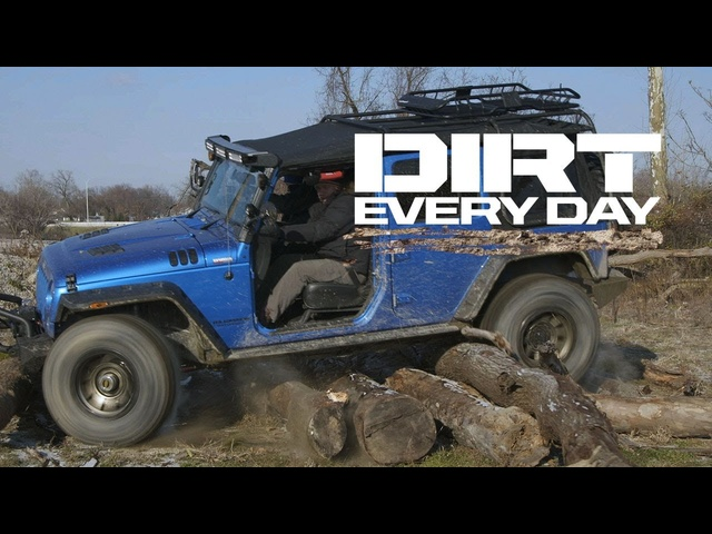 Urban Wheeling at the Toledo Jeep Factory - Dirt Every Day Ep. 60