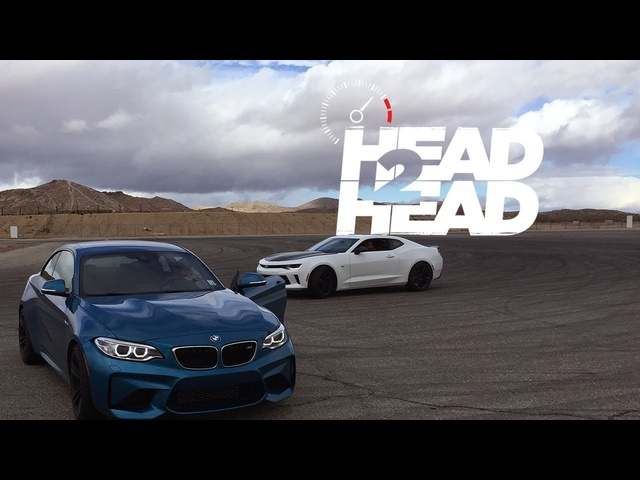 2017 Chevrolet Camaro LT 1LE vs. 2016 <em>BMW</em> M2 - Head 2 Head Ep. 86
