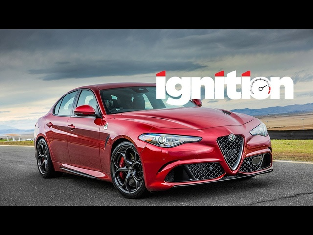 2017 Alfa Romeo Giulia Quadrifoglio: The Return of the Italian Sport Sedan! - Ignition Ep. 167