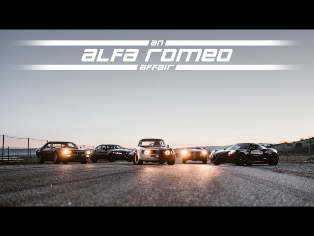 2017 Alfa Romeo Giulia - An Affair with the 4C, Montreal, Giulietta, and GTA