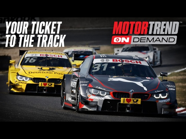 Stream Live and On-demand Racing in the UK and Europe with Motor Trend OnDemand