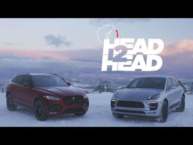 2017 Jaguar F-Pace S vs. 2017 Porsche Macan GTS -Head 2 Head Ep. 87