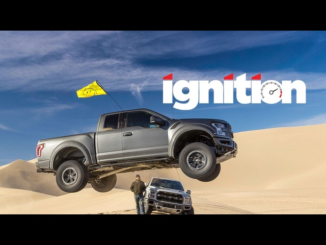 2017 <em>Ford</em> Raptor with Ken Block: Meet the World's Best Flying Truck! - Ignition Ep. 169