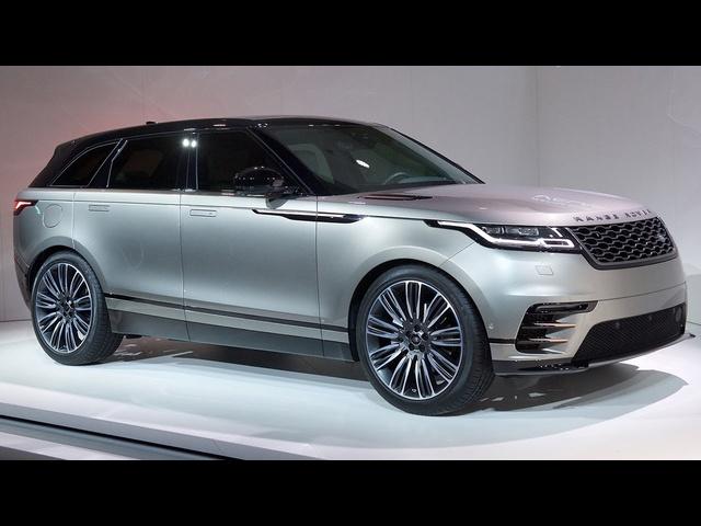 2018 Range <em>Rover</em> Velar Unveiling!