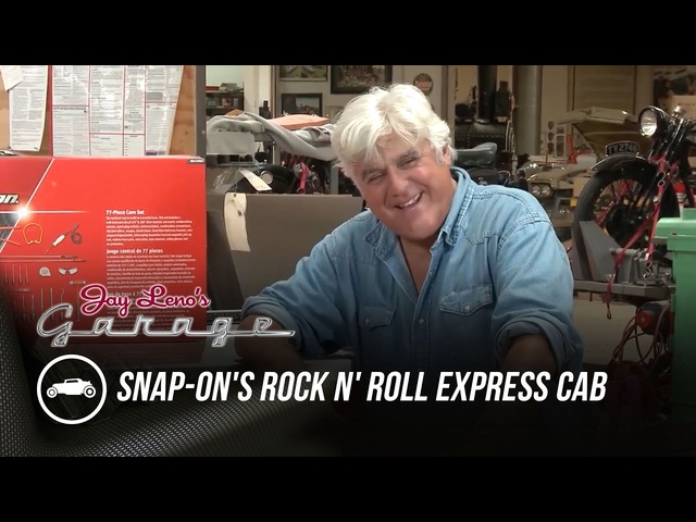 Snap-on's Rock N' Roll Express Cab - Jay Leno's Garage