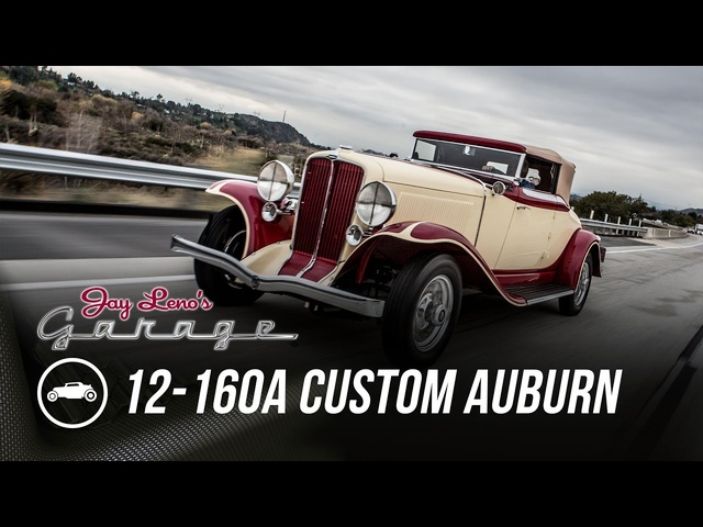 1932 12-160A Custom Auburn -Jay Leno's Garage