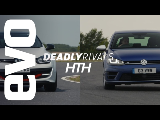 Renaultsport Mégane 275 Trophy-R v VW Golf R | evo DEADLY RIVALS head to head