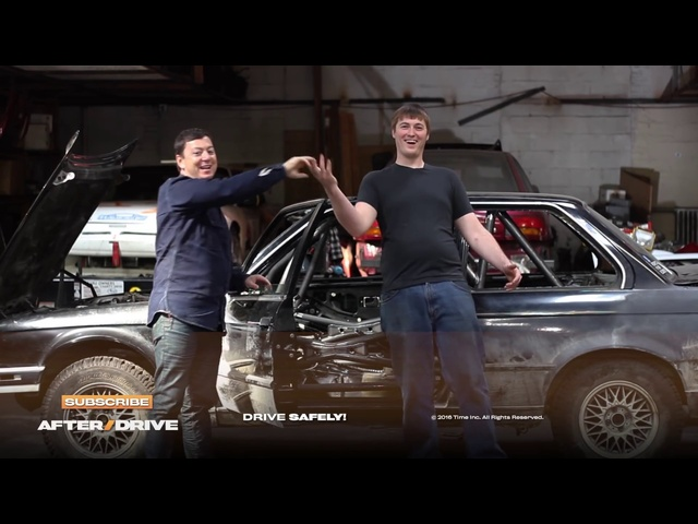 How We Built a Roll Cage for the $2,000 <em>BMW</em> -- AFTER/DRIVE