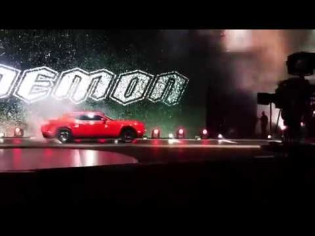 840-HP 2018 Dodge Challenger SRT Demon Reveal!