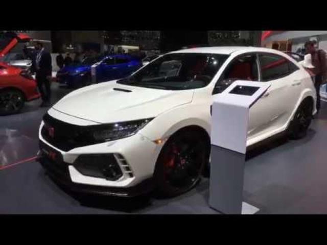 2017 Geneva Auto Show -2017 <em>Honda</em> Civic Type R
