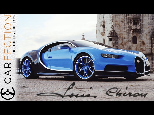 <em>Bugatti</em> Chiron: Who the hell was Louis Chiron and why is his name on a car? - Carfection