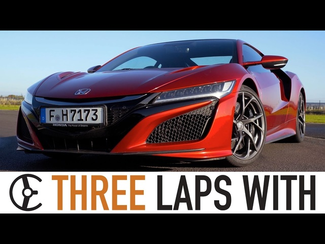 Honda NSX: Three Laps With - Carfection
