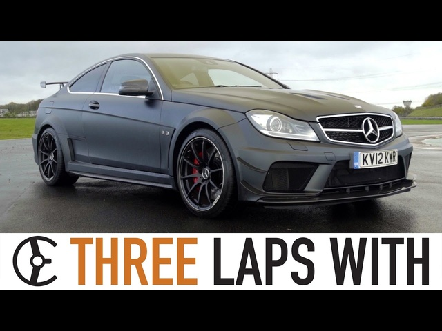 Mercedes-Benz C63 AMG Black Series Coupé: Three Laps With - Carfection