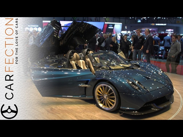 <em>Pagani</em> Huayra Roadster: Oh My. So Pretty. - Carfection