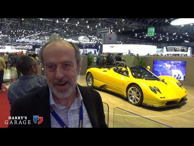 Geneva Motorshow 2017 walk around. <em>Pagani</em>, Koenigsegg, Bugatti, Ferrari