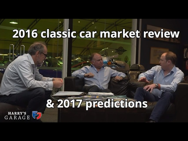 2016 Classic car market review and 2017 predictions