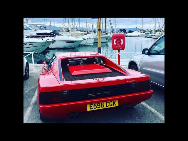 <em>Ferrari</em> Testarossa 2000 mile road trip to the French Riviera