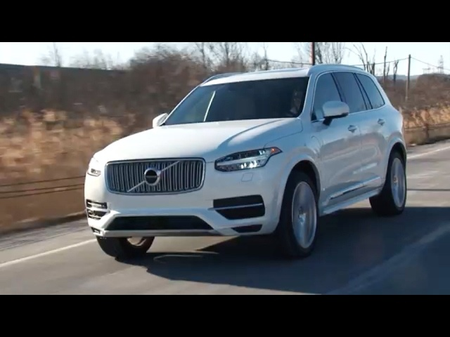 2017 <em>Volvo</em> XC90 T8 Review