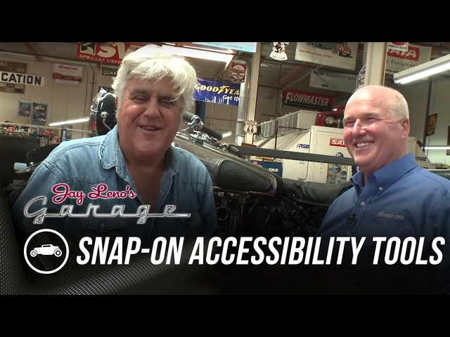 Snap-On Accessibility Tools - Jay Leno's Garage
