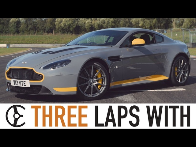 Aston Martin V12 Vantage S Manual: Three Laps With - Carfection