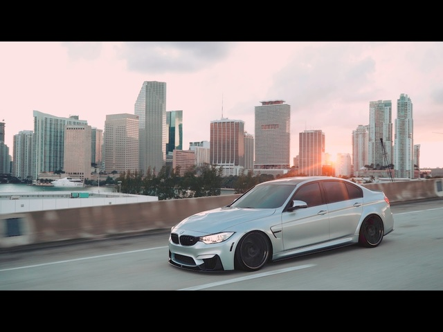 Static <em>BMW</em> M3 in downtown Miami | I Love Bass