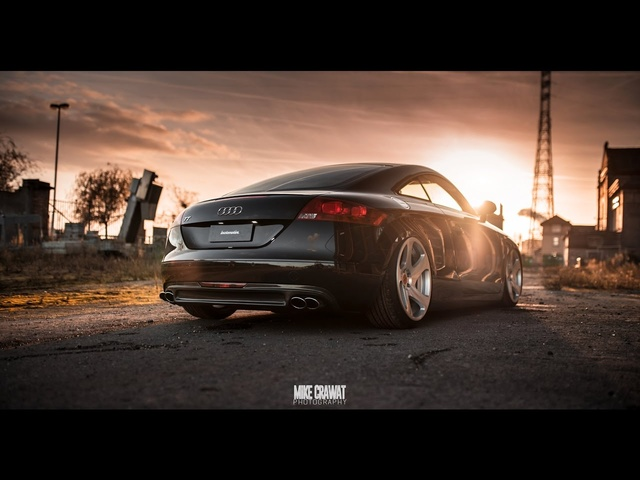 Cedric's Bagged Audi TT on Rotiform Wheels