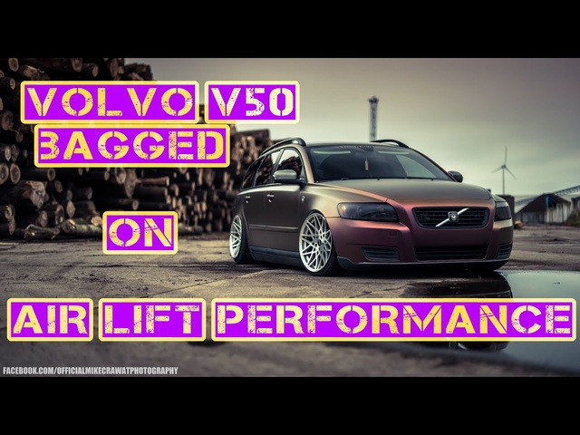 MikeCrawatPhotography: Volvo V50 | Air Lift Performance