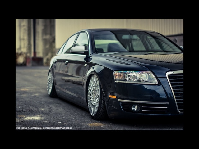 MikeCrawatPhotography: Niels's bagged Audi A6 | AccuAir Suspension
