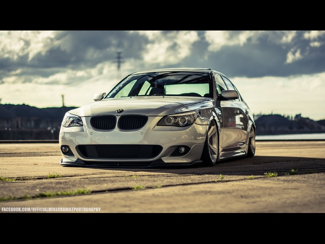 MikeCrawatPhotography: Danny Busker's <em>BMW</em> 5 Series - Air Lift Performance