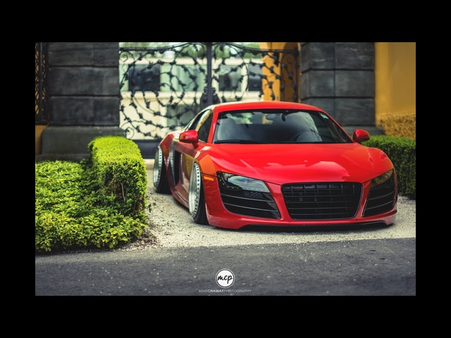 BSCarstyling's Audi R8 - HP Drivetech & Messer Wheels