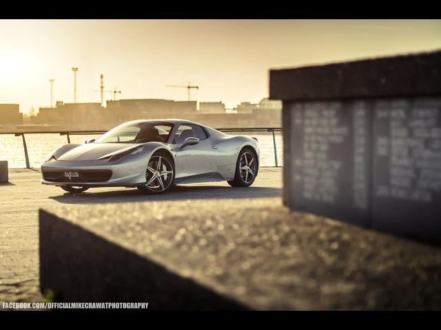 MikeCrawatPhotography: <em>Ferrari</em> 458 Italia Spider -Revving + Launch