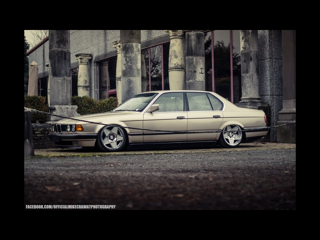 MikeCrawatPhotography: <em>BMW</em> E32 730i - AccuAir Suspension - 3SDM Wheels