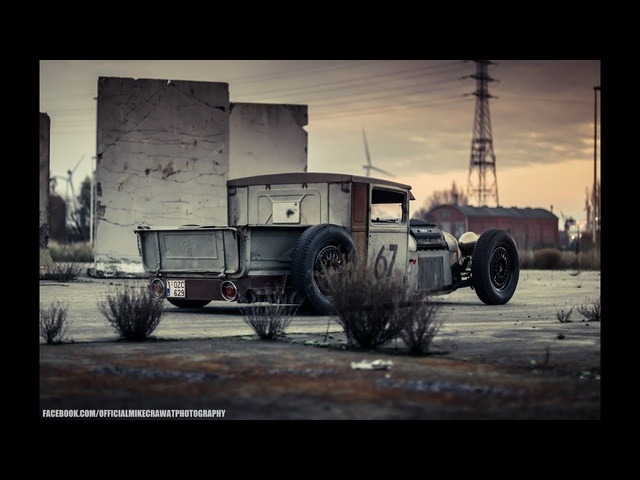 MikeCrawatPhotography: <em>BMW</em>-POWERED 1928 FORD MODEL A!