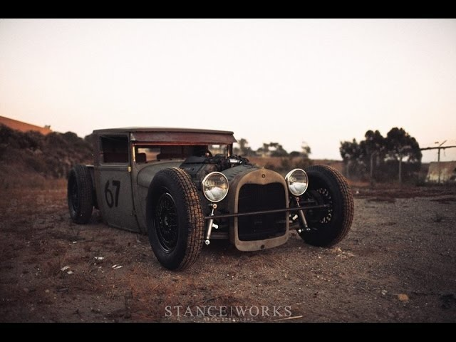 MikeCrawatPhotography: <em>BMW</em>-POWERED 1928 FORD MODEL A Launch