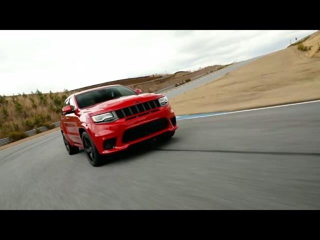 2018 Jeep Grand Cherokee Trackhawk -NY Auto Show