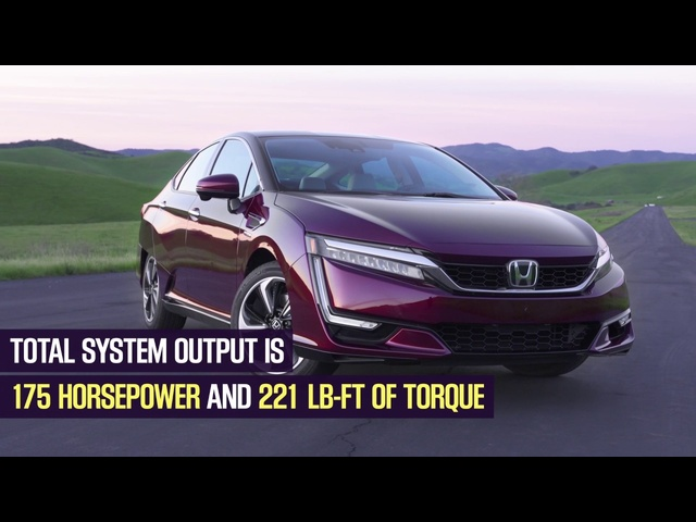 Overview: 2017 <em>Honda</em> Clarity Fuel Cell