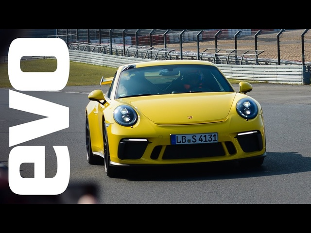 <em>Porsche</em> 911 GT3 sets a new best time at the Nürburgring Nordschleife