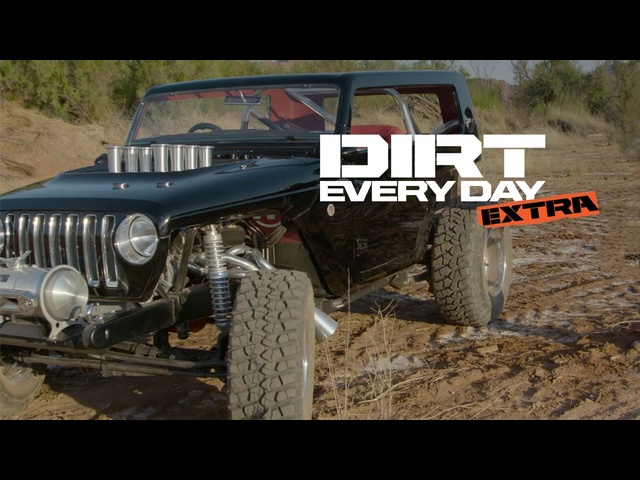 Quicksand Concept <em>Jeep</em> - Dirt Every Day Extra