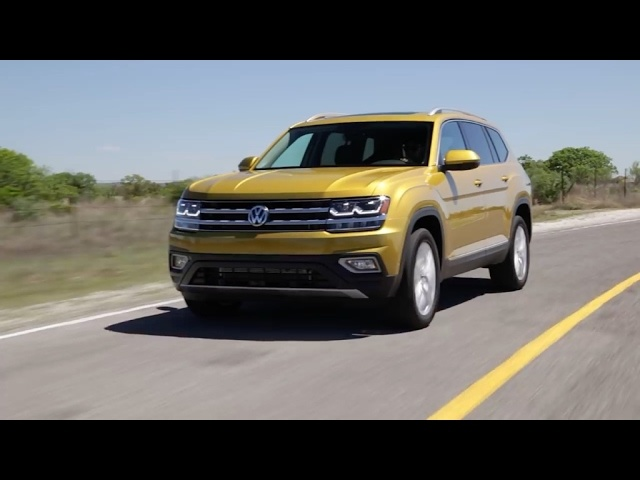 2018 <em>Volkswagen</em> Atlas - First Look | TestDriveNow