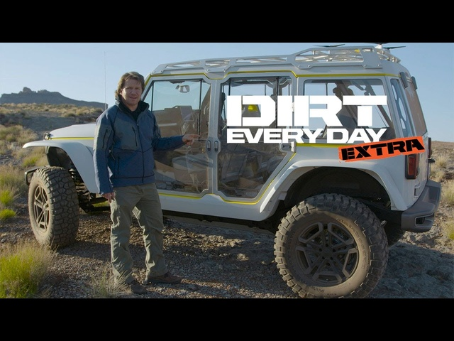 2017 Jeep Safari Concept Walk-Around - Dirt Every Day Extra