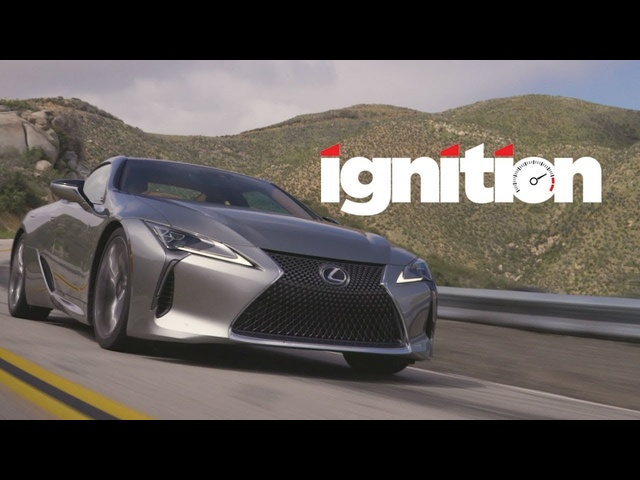 2018 Lexus LC500: Never Judge a Book by Its Cover! - Ignition Ep. 172