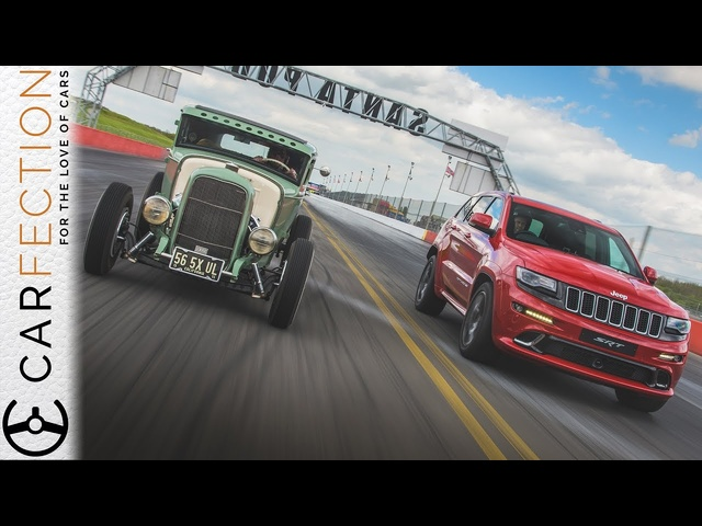 Jeep Grand Cherokee SRT: Drag Racing At Santa Pod - Carfection