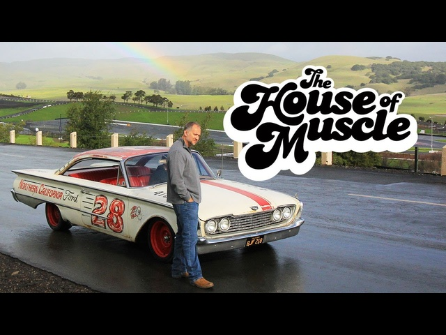 Retro NASCAR-Inspired 1960 <em>Ford</em> Starliner - The House Of Muscle Ep. 6