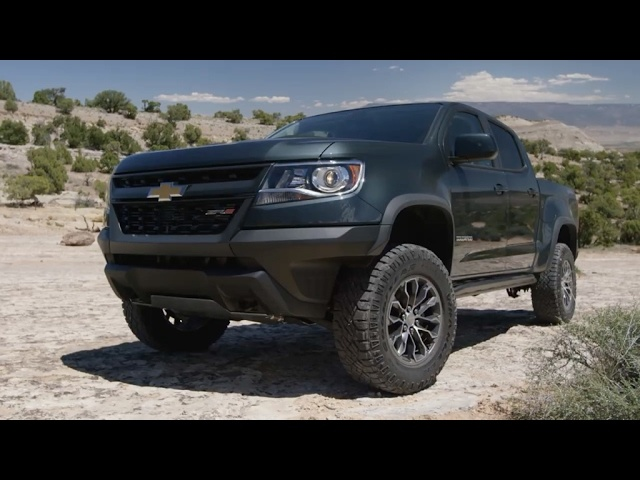 2017 Chevrolet Colorado ZR2 - First Look