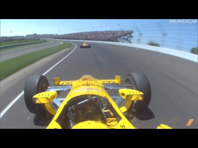 Indy 500 Champ Ryan Hunter Reay Talks Racing Strategy -- AFTER/DRIVE